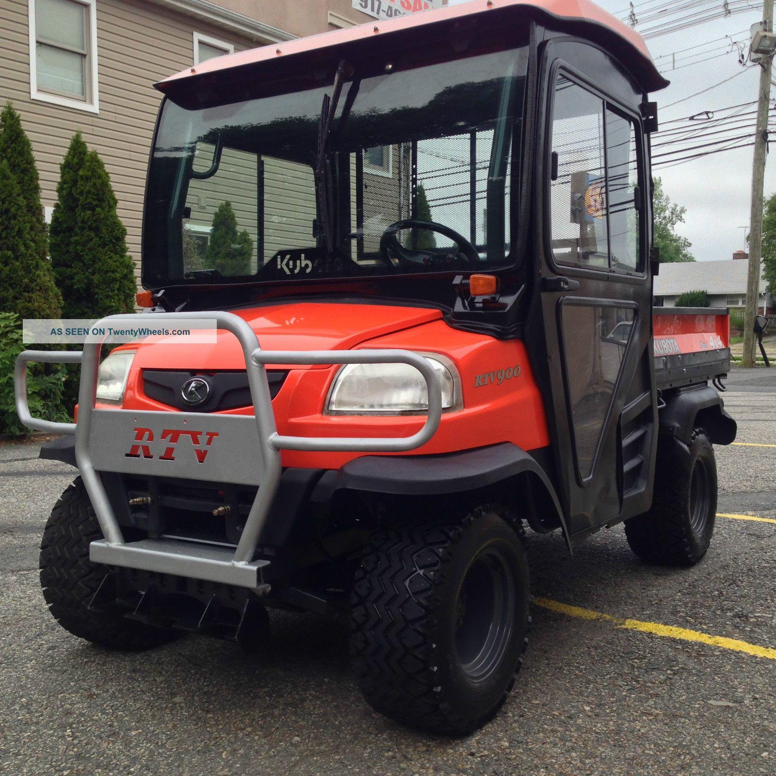 Kubota Rtv900 Specs : Kubota rtv diesel hard cab heater hydrostatic