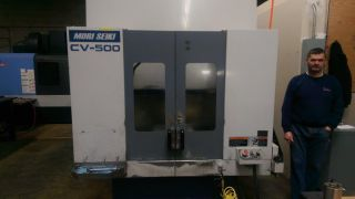 1998 Mori Seiki Cv - 500a Vertical Machining Center Mill 2 Pallet Indexing Table photo