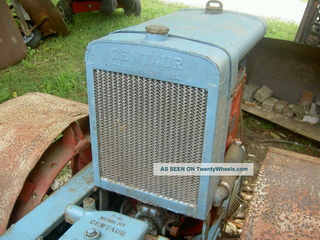 1939 Centaur Model G Tractor