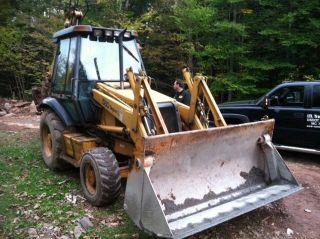 Case 580 Backhoe photo