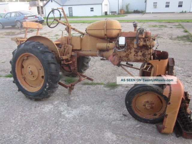 1948 Vintage Allis Chalmers B Farm Tractor For Repair