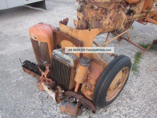 Farm Equipment Replacement Parts : Vintage allis chalmers b farm tractor for repair