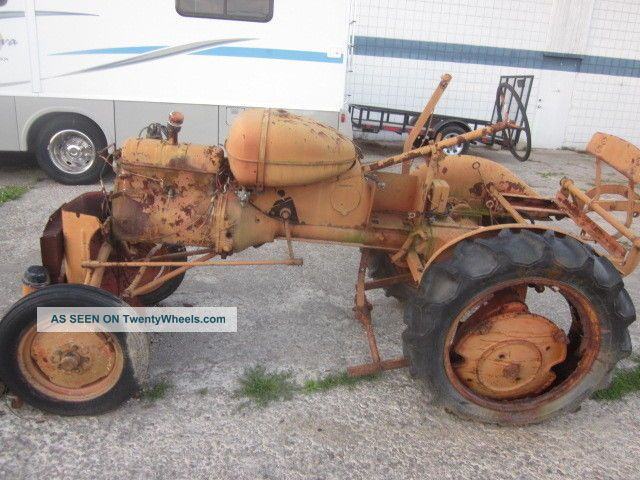 Tractor Restoration Parts : Vintage allis chalmers b farm tractor for repair