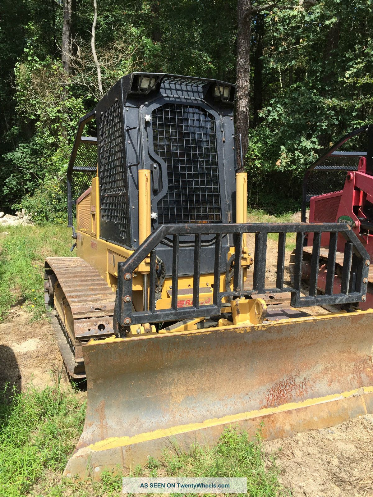 Tractor Forestry Package : Rayco c d bulldozer with forestry package