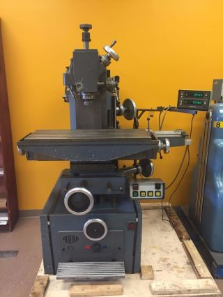Aciera F5 Precision Universal Milling Machine (swiss Made) photo