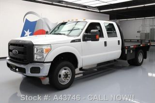 2014 Ford F - 350 Crew Dually 4x4 Flat Bed Side Steps photo