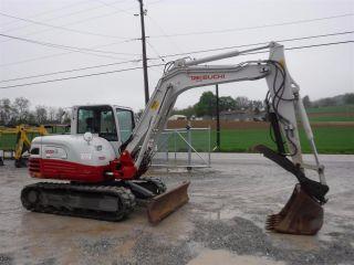 2012 Takeuchi Tb285 Excavator,  Cab Air,  Hyd Thumb,  3rd Valve,  1276 Hrs photo