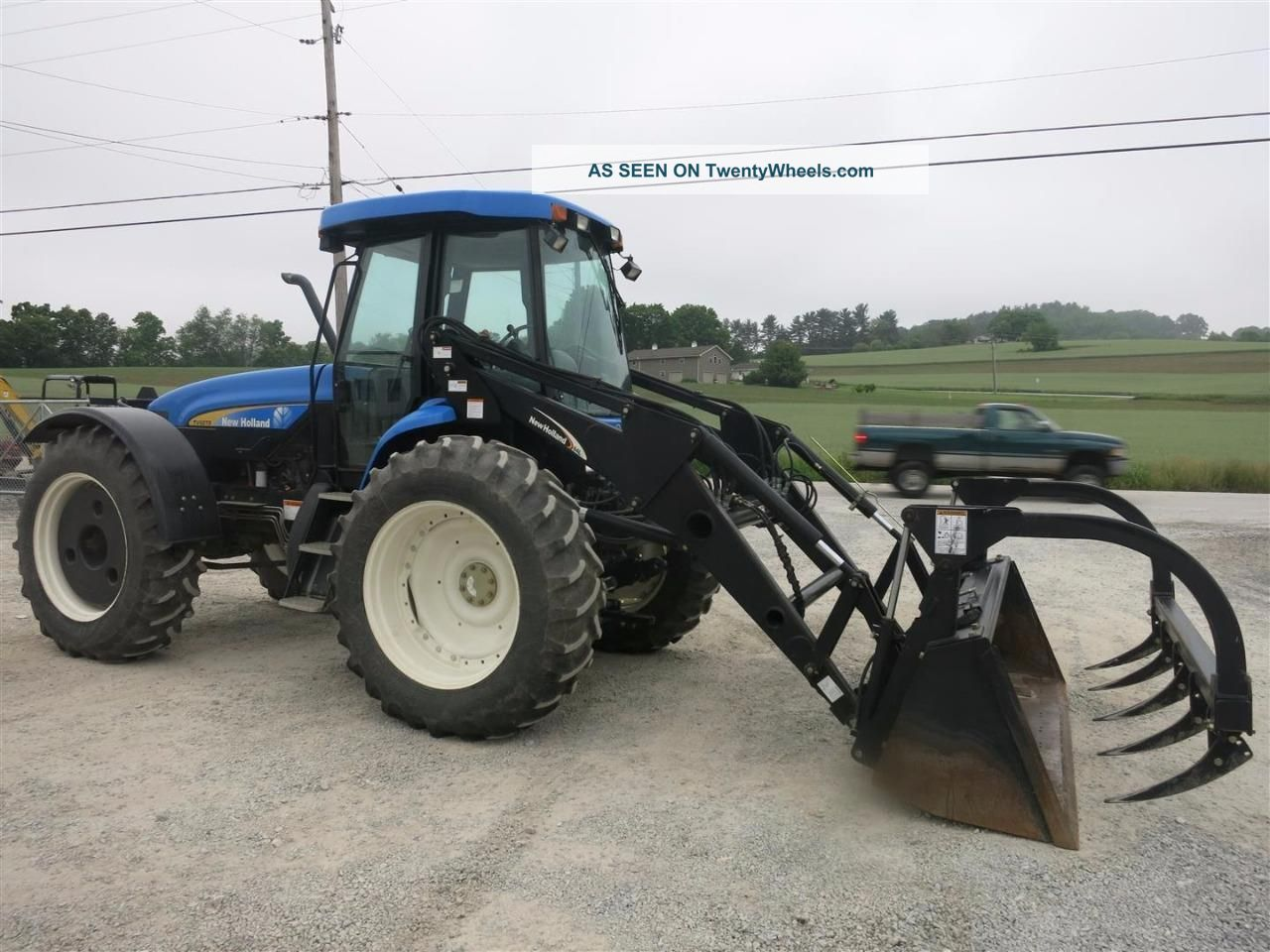 Ford Bi Directional Tractor : Holland tv articulating tractor bi