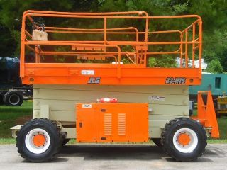 2000 Jlg 33 - Rts 39 ' Scissor Lift Manlift 4wd Rough Terrain (tires) photo