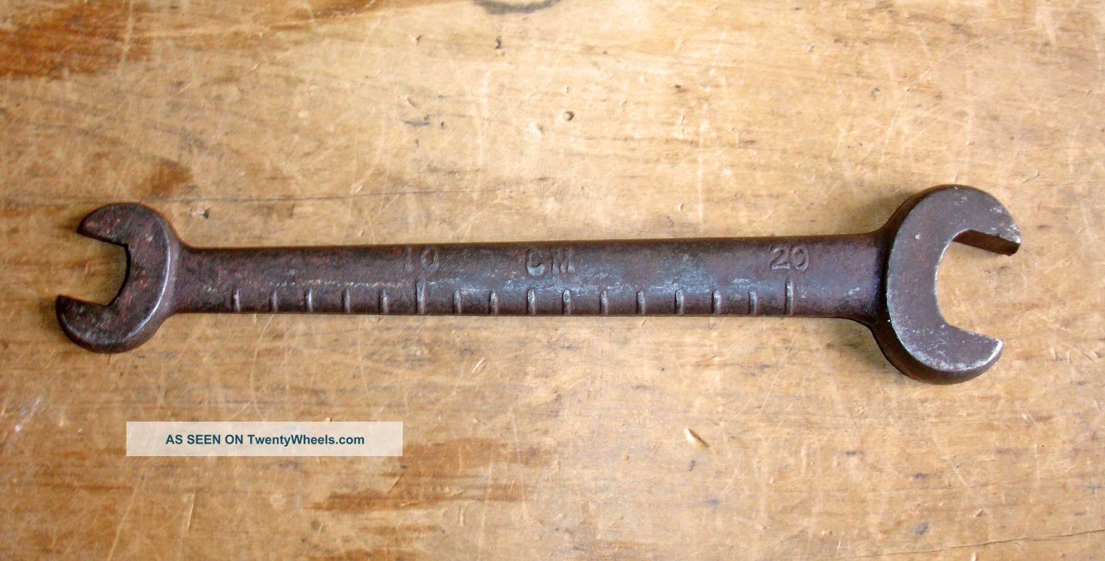 Vintage Grey Ferguson Tef - 20 Te20 Tractor Spanner Wrench En18 Uncategorized photo