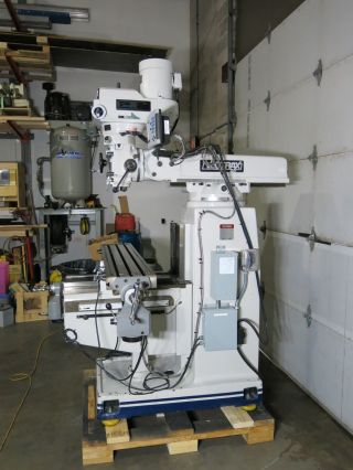 2009 Vectrax Gs20vh Milling Machine 10