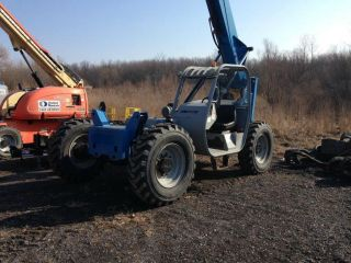 2008 Genie Gth - 636c Telescopic Forklift 6000lbs Lift Cap photo
