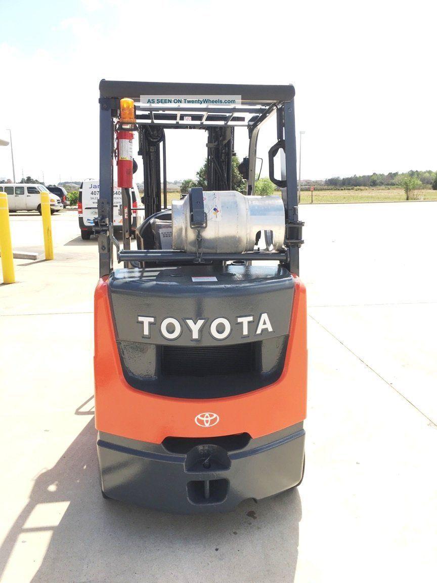 2011 Toyota 8fgcu25 Forklift Forklifts