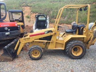 Diesel Loader Backhoe - 2010 Allmand Tlb425esl Loader Backhoe 4x2 photo