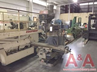 Bridgeport Series Ii Vertical Milling Machine 15595 photo