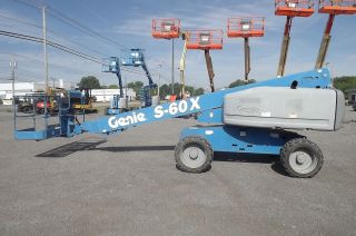 2013 Genie S60x 4x4 - Fresh Ansi Inspection photo