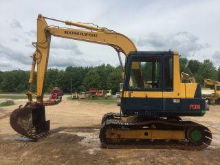 Komatsu Pc80 Excavator photo