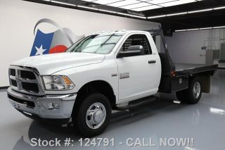 2014 Dodge Ram 3500 Slt Reg Cab 4x4 Hemi Dually Flatbed photo