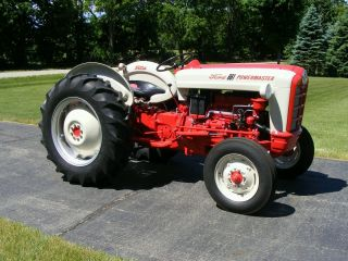 Ford Tractor Fully Restored Thumb Lgw