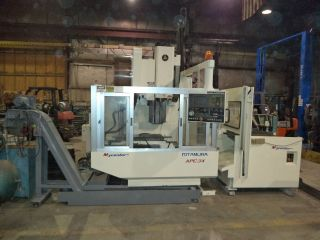 Kitamura Model 3x Apc Vertical Machining Center (vmc),  Pallet Changer,  Fanuc 0m photo