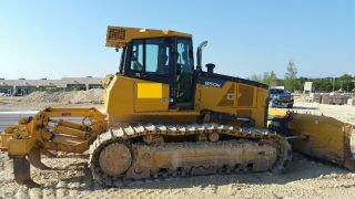 2011 John Deere 850k Wlt Crawler Dozer W/ripper; 4429 Hrs photo
