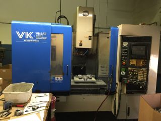 Hitachi Seiki Vk 45 Ll Cnc Vertical Machining Center photo