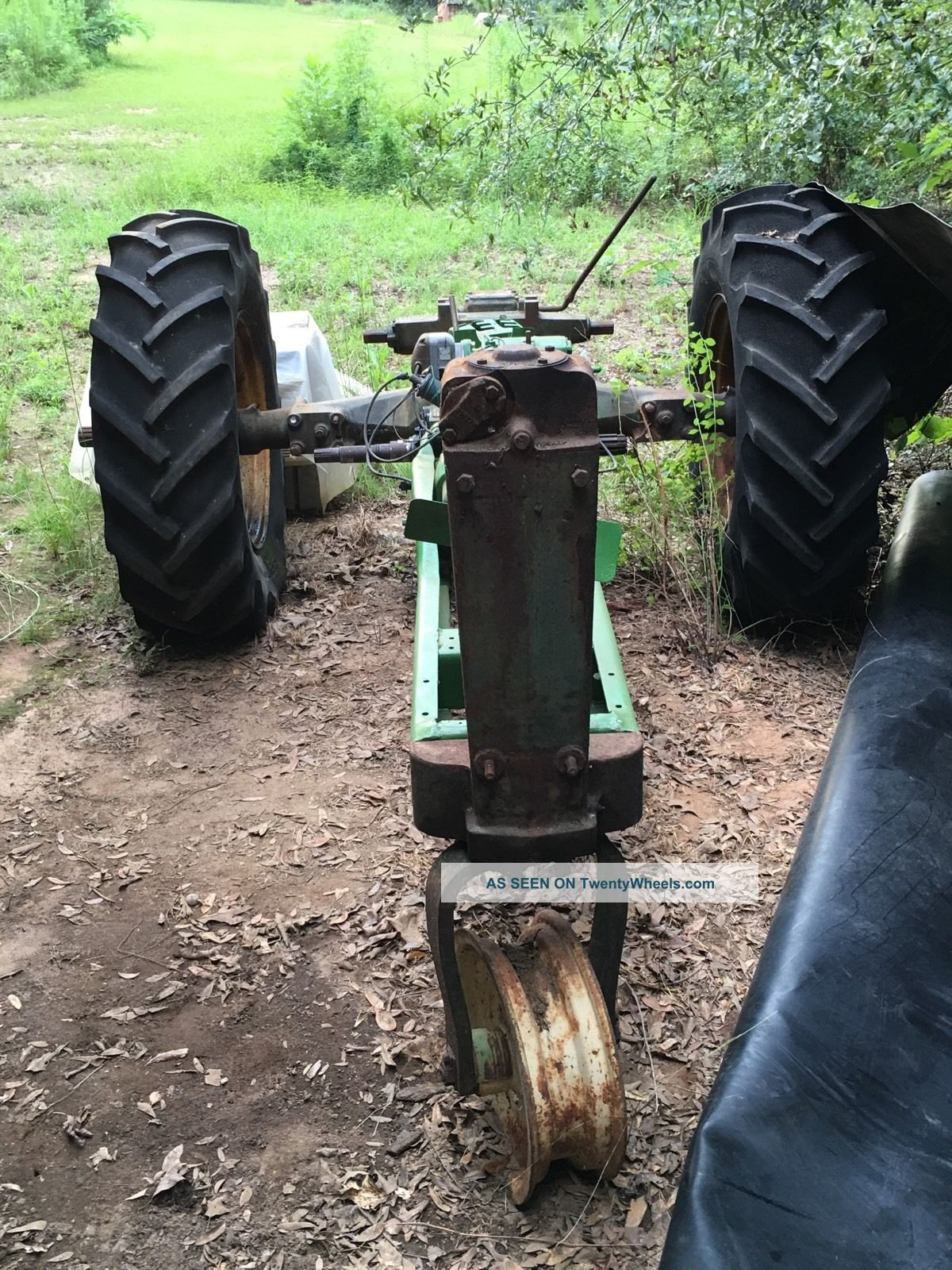 Old John Deere Tractor Parts : John deere b antique classic tractor many parts