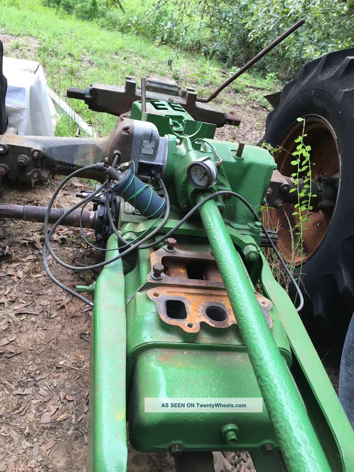 Antique John Deere Parts : John deere b antique classic tractor many parts