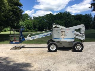 Terex Marklift Boom Lift 51ft Height photo