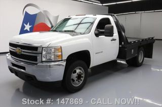 2012 Chevrolet Silverado 3500 Hd Reg Cab Flat Bed photo