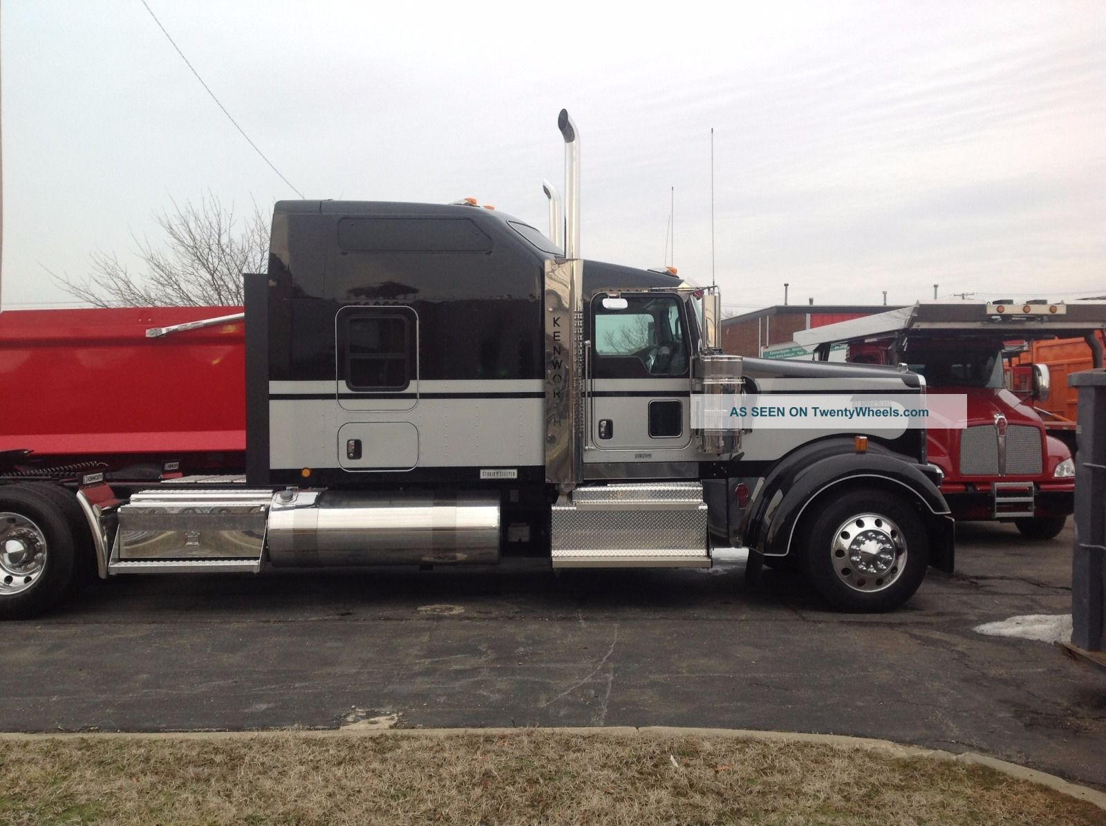 Watch further Index as well 3 Side Tipper Trailer Drawbar likewise 44266 8n ford tractor wloader live hydraulics also 2013 International Prostar Day Cab Truck 8994562. on model semi trailers