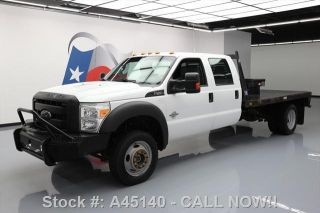2015 Ford F - 450 Crew Diesel Dually 4x4 Flat Bed photo