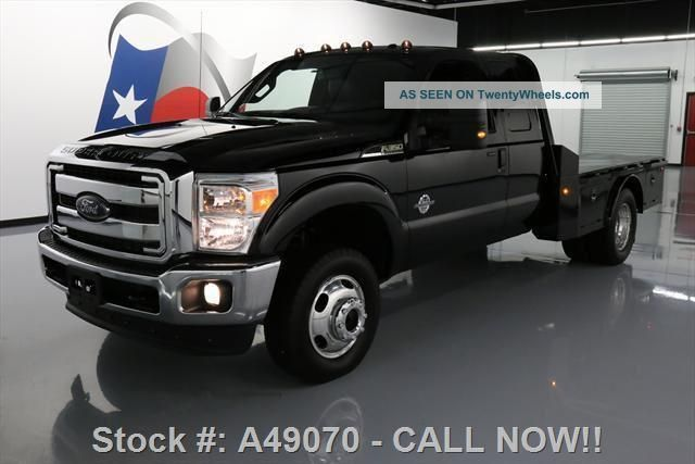 2016 ford f 350 lariat supercab drw diesel 4x4 flat bed. Black Bedroom Furniture Sets. Home Design Ideas