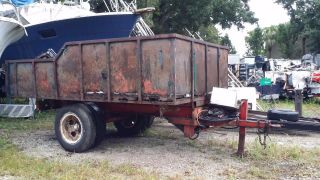 15,  000 Lb Dump Trailer Project W/ photo