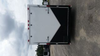 7x16 Ghost Whisper Enclosed Cargo Trailer photo