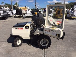 2015 Terex Tsg538 Self Propelled Wheeled Stump Grinder