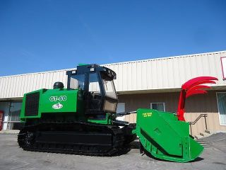 2008 Gyro - Trac Gt60 600 Hp Mulcher Mulching Crawler Track Forestry Mower photo