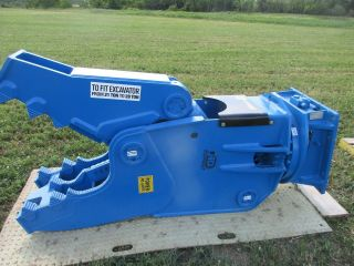 Excavator Rotating Crusher/shear Attachment photo