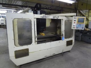 Vf3 Haas Cnc Vertical Machining Center - 27885 photo