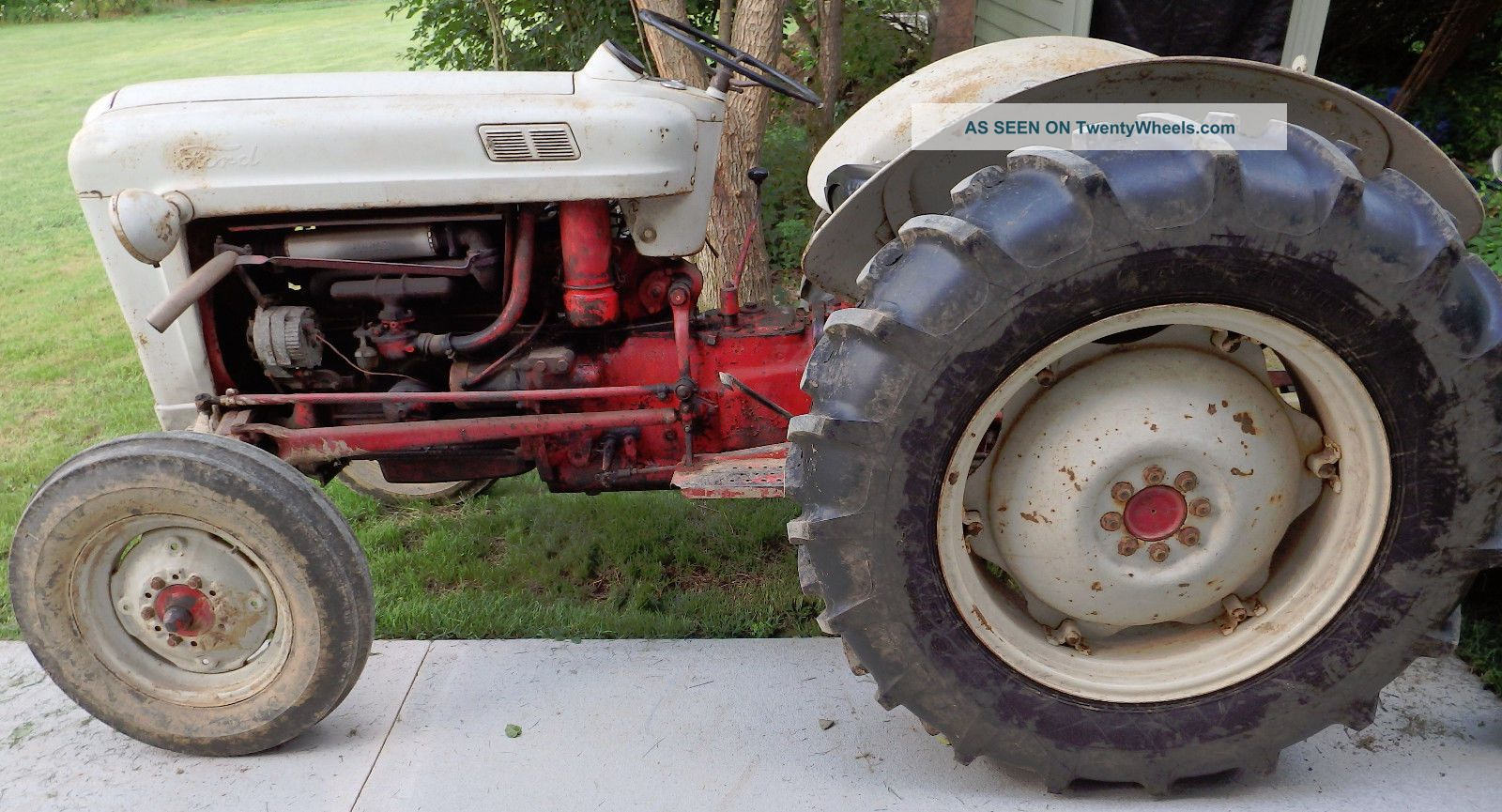 Ford Tractor 800 Series Specifications : Ford farm tractor series