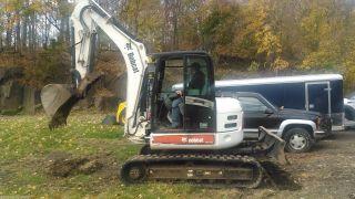 Bobcat 442 Excavator photo