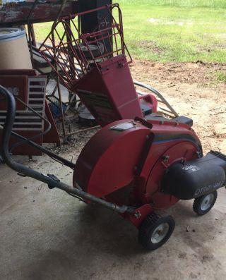 Self Propelled 5hp Troy Bilt 47279 Wood Chipper / Vacuum photo