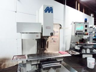 Milltronics Rh - 19 (ridgid Head) Cnc Vertical Milling Machine Centurian 7 Control photo
