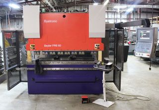 2003 - Bystronic Beyeler 60 Tons X 8' Model Pr6 60 Hydraulic Press Brake photo