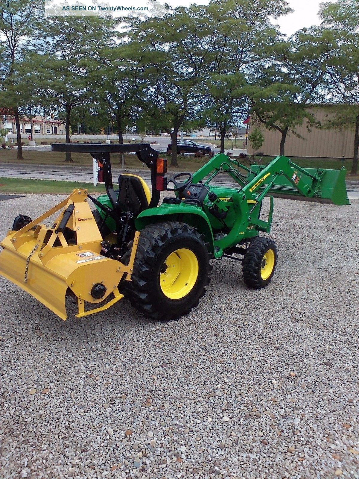 2015 3038e John Deere Compact Utility Tractor With 6ft