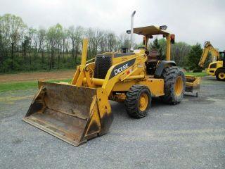 2004 John Deere 210le Loader Tractor,  4x4,  4n1 Bucket,  1394 Hours,  Very photo