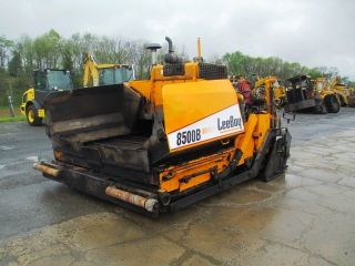 2012 Leeboy 8500b Asphalt Paver,  Electric Heat,  Kubota Diesel,  2395 Hours photo