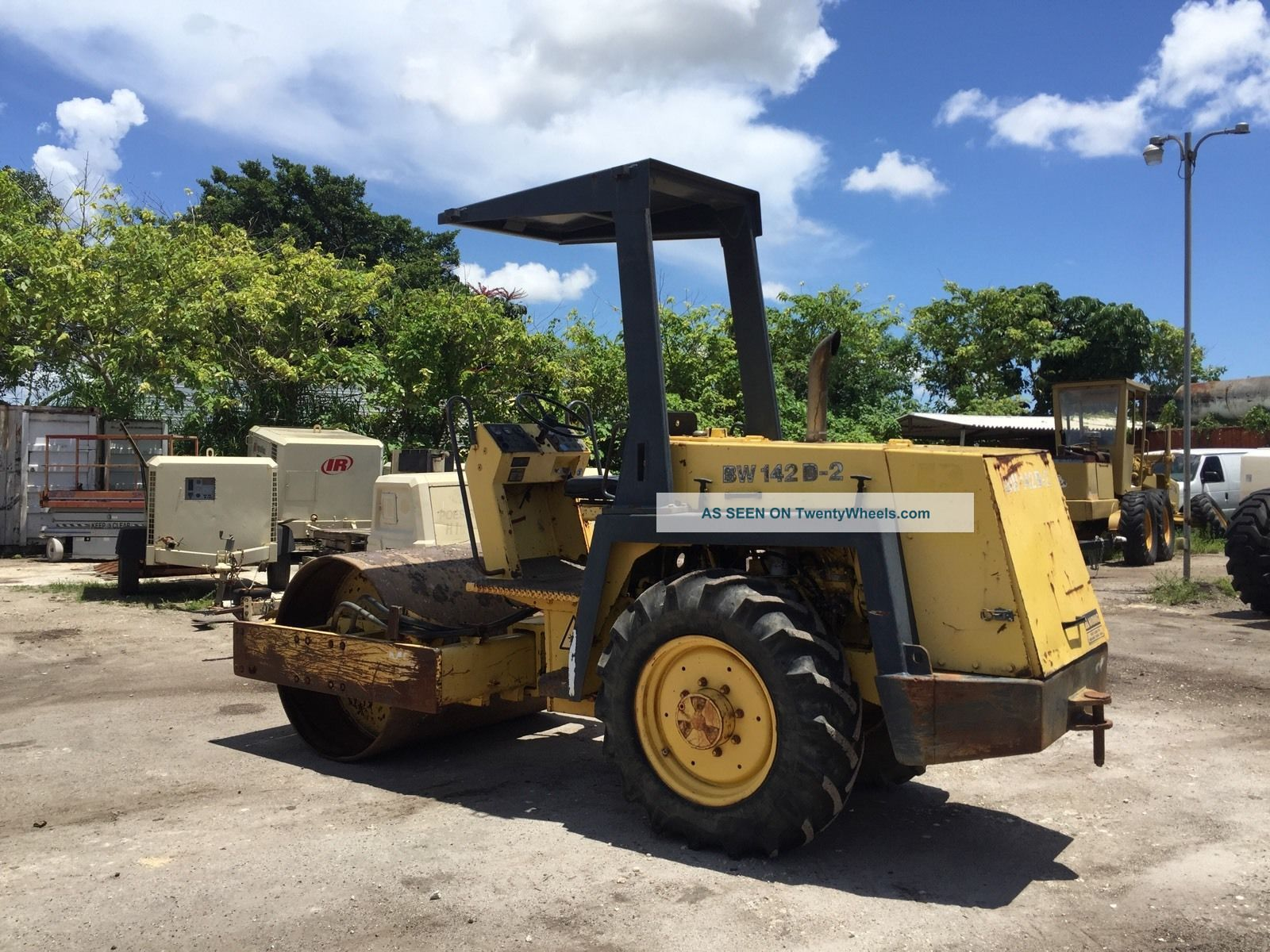 2002 Bomag Bw142d Single Drum Roller Compactors & Rollers - Riding photo