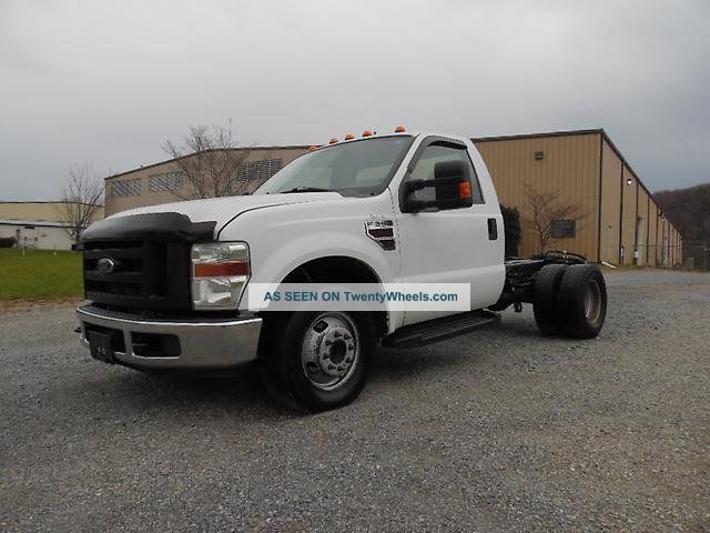 2008 Ford F350 Duty Diesel Cab  Chassis Truck Cab  U0026 Chassis