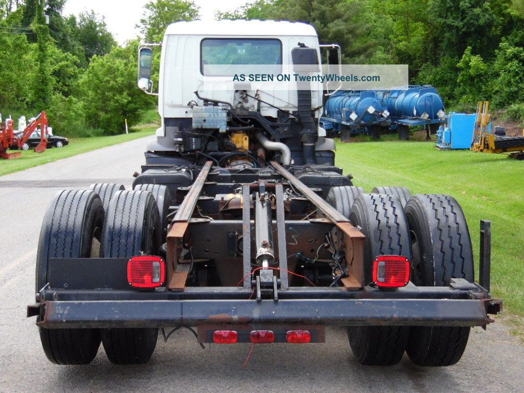1999 Gmc T7500 Cab  Chassis Cab  U0026 Chassis